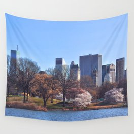 Central park colors Wall Tapestry