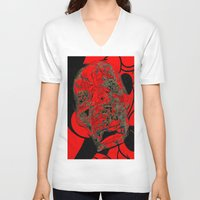 mickey V-neck T-shirts featuring MIckey  by Mylittleradical