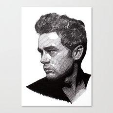 James Canvas Print
