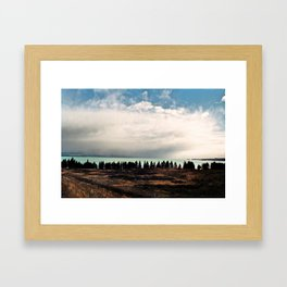 Lake Pukaki Framed Art Print