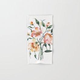 Loose Floral on Yupo Hand & Bath Towel