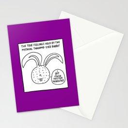 THOUSAND EYED RABBIT Stationery Cards