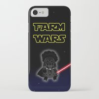 darth iPhone & iPod Cases featuring Darth by Afro Pig