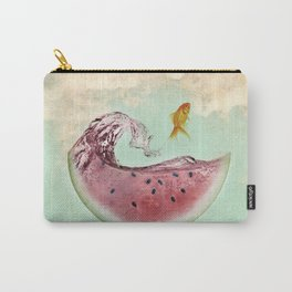 watermelon goldfish 02 Carry-All Pouch