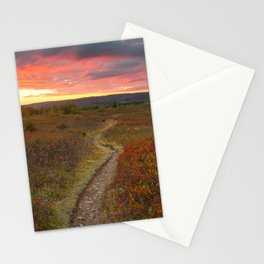 Dolly Sods Twilight Trail Stationery Cards