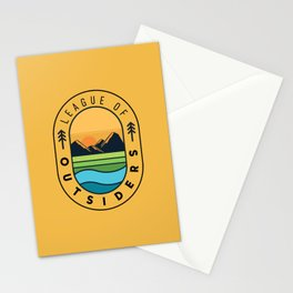 League of Outsiders Stationery Cards
