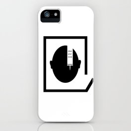 Clear your mind iPhone Case
