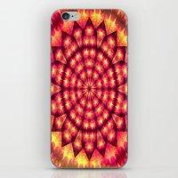 hippie iPhone & iPod Skins featuring Hippie Star by NatalieCatLee