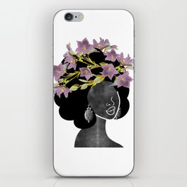 Wildflower Crown II iPhone Skin