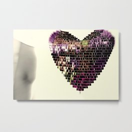 Deeper In Love Metal Print