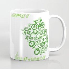 Recycling Artwork Logo Coffee Mug