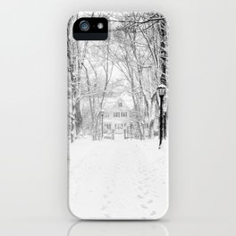 Wandering through Winter iPhone Case