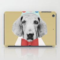 pooh iPad Cases featuring Doggy Pooh the Clown by cafelab