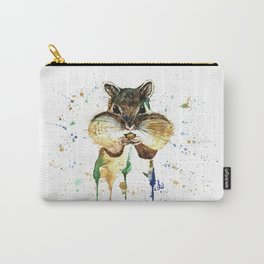 Chipmunk - Feeling Stuffed Carry-All Pouch