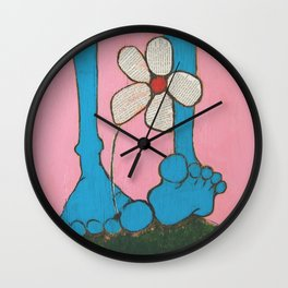 Footloose and Fancy Free Wall Clock