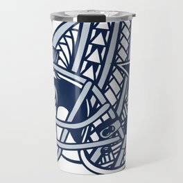 Polynesian Style Cowboys Travel Mug
