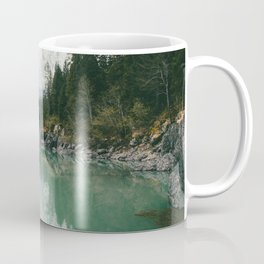 Turquoise lake - Landscape and Nature Photography Coffee Mug
