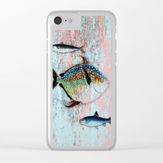 Into the Deep, Ocean Fish Clear iPhone Case