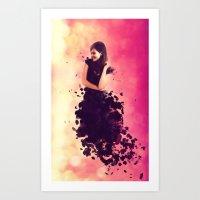 breaking Art Prints featuring Breaking by Roslyn Erinn Abbedonn