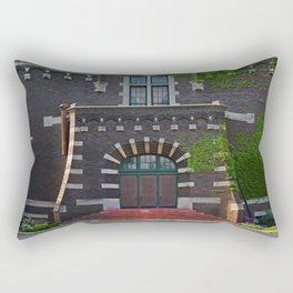Old West End Mary Manse College Auditorium aka Lois Nelson Theater V Rectangular Pillow