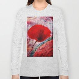 Red Poppy 157 Long Sleeve T-shirt
