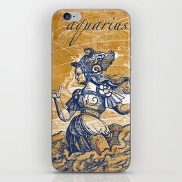aquarius | wassermann iPhone Skin