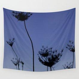 Dandelion Sunset Wall Tapestry