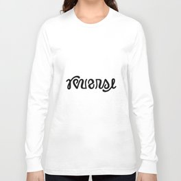 REVERSE ambigram Long Sleeve T-shirt