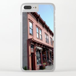 """On Greene Street - The """"Main Drag"""" of Silverton, No. 1 of 3 Clear iPhone Case"""