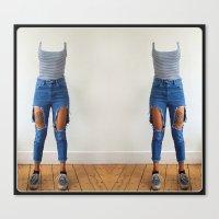 aperture Canvas Prints featuring Exquisite Aperture by mofart photomontages