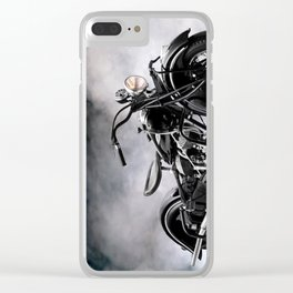 The Vintage Chief Clear iPhone Case