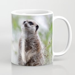 Meerkat on guard duty Coffee Mug