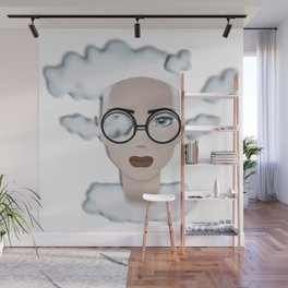 Cloudy OCTOBER Wall Mural