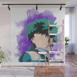 My Hero Academia Minimalist (Midoriya/Deku) Wall Mural