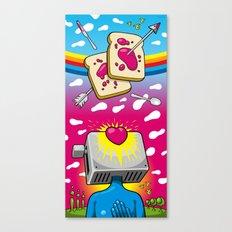 Breakfast Nirvana Canvas Print