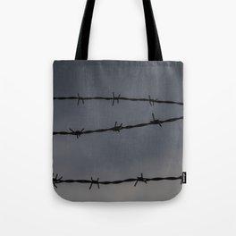 Barb Wire II Tote Bag