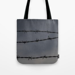 Barb Wire II Tote Bag