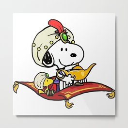 arabian snoopy Metal Print