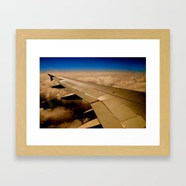 i wish i have wings Framed Art Print