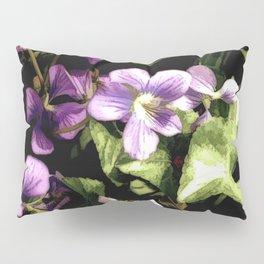 Wild Violets Pillow Sham