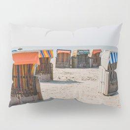 Cabines de plage 4 Pillow Sham
