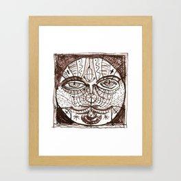 patchwork 011 Framed Art Print