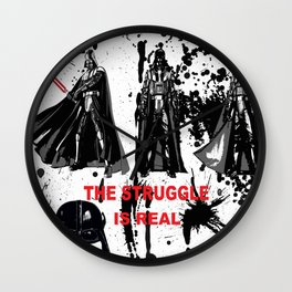 CONFLICT AND STRUGGLE Wall Clock
