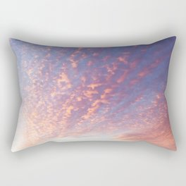 Sunset and Cotton Candy Rectangular Pillow