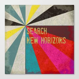 Search New Horizons Canvas Print