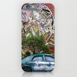 toronto graffiti car iPhone Case