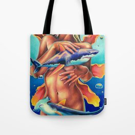 Shark Goddess Tote Bag