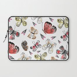 Fly fly butterfly Laptop Sleeve