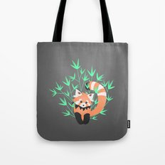 Baby Red Panda / Night Tote Bag