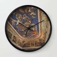 baroque Wall Clocks featuring Baroque by Lorenzo Bini